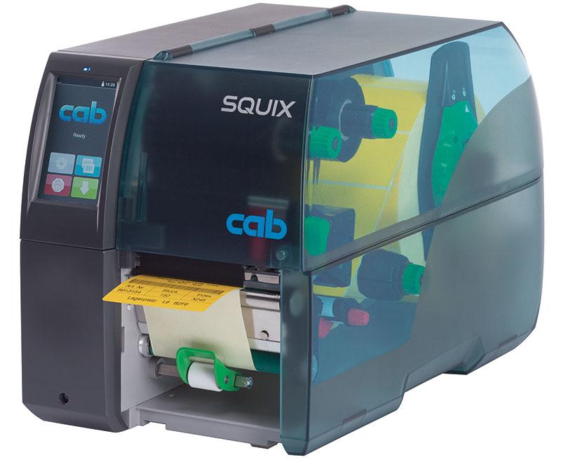 Der neue cab Etikettendrucker - SQUIX