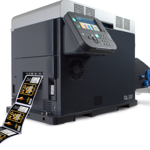 QL-300  Weltweit Erste Tonerbasierte 5-Farb-Tischetikettendrucker