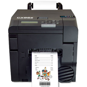 DTM CX86e Colour Tag Printer